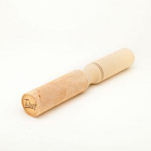 Bacchetta doppia di cuoio e legno